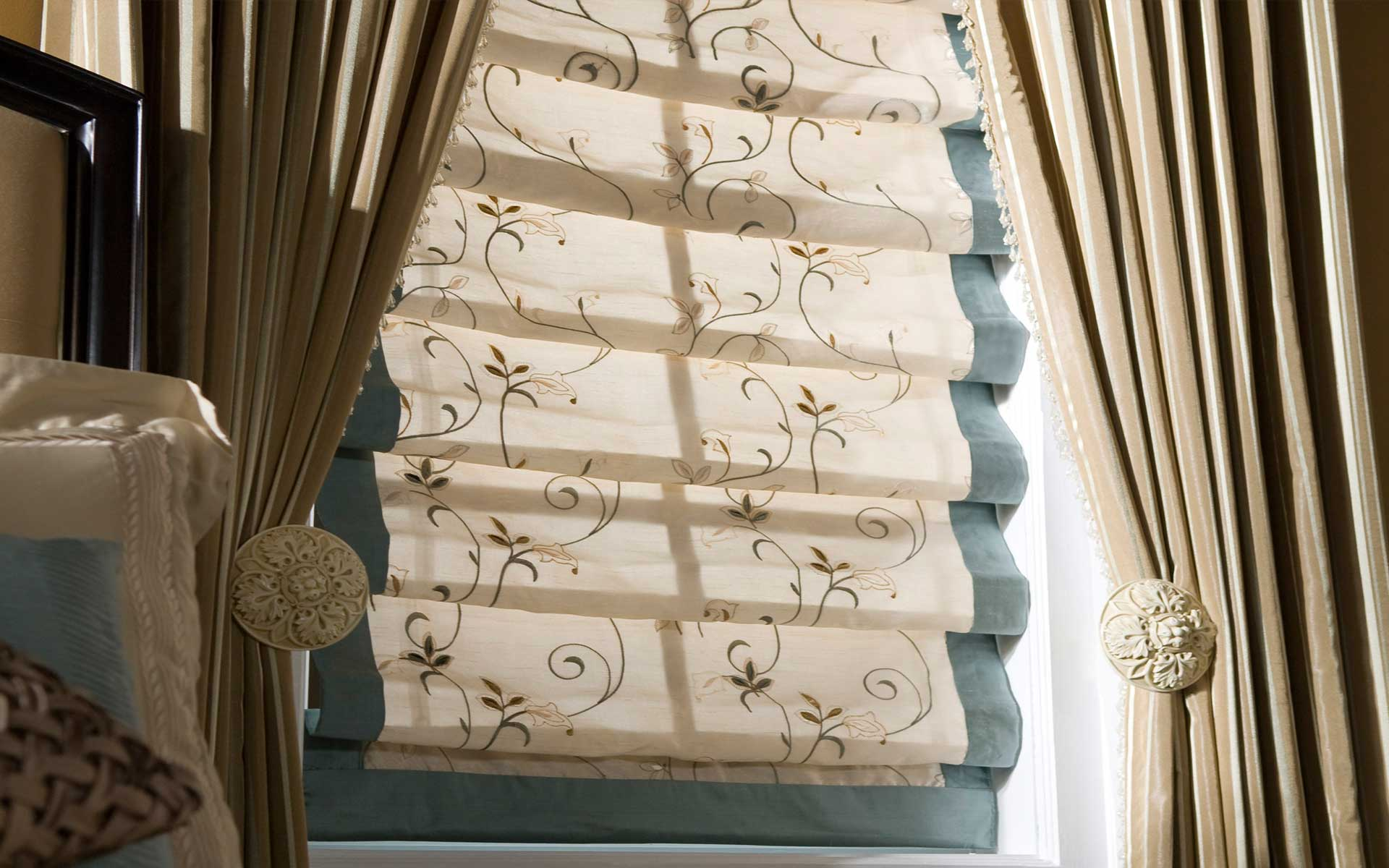 decor blinds. Custom made Roman Blinds Made Decor  Shade Solutions